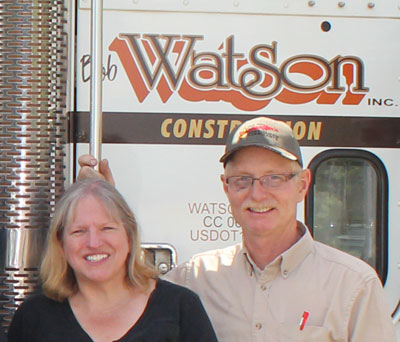 Bob and Stephanie Watson