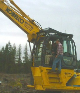 Watson Construction Shelton Washington Excavator